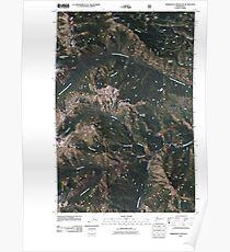 USGS Topo Map Washington State WA Timberwolf Mountain 20110506 TM Poster