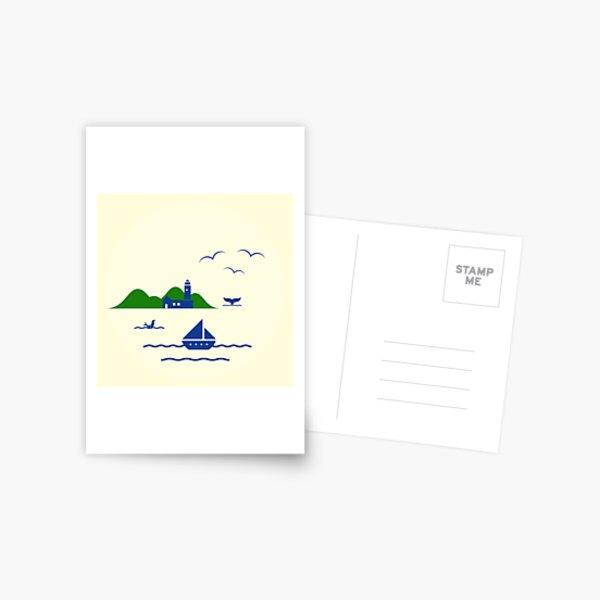 Schönen Urlaub Postkarte