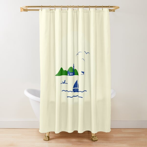 Schönen Urlaub Duschvorhang
