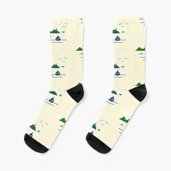 Schönen Urlaub Socken