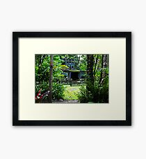 The Spanish Castle at Paronella Park Framed Print