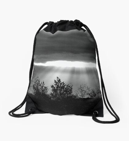 The Last Rays! Drawstring Bag