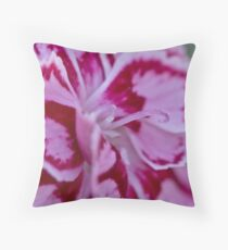 Two tone flower  Throw Pillow