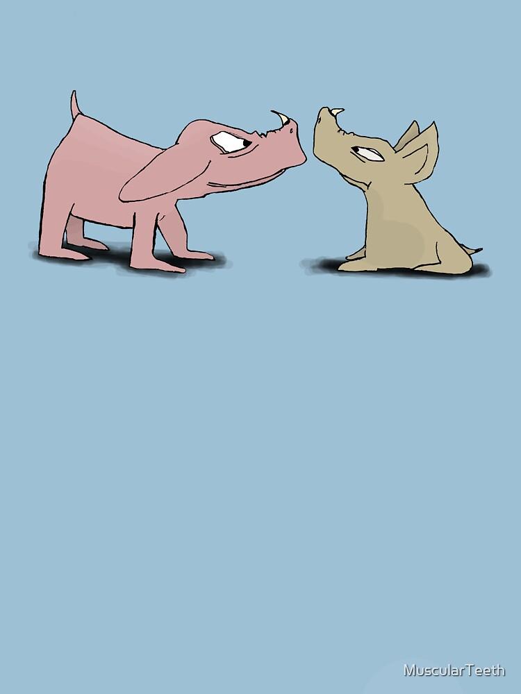 Bored Boars by MuscularTeeth