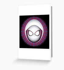 SpiderGwen Greeting Card