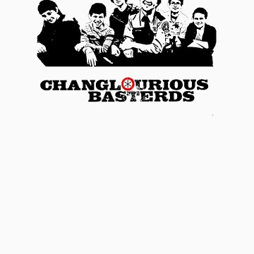Changlourious Basterds by vintageham