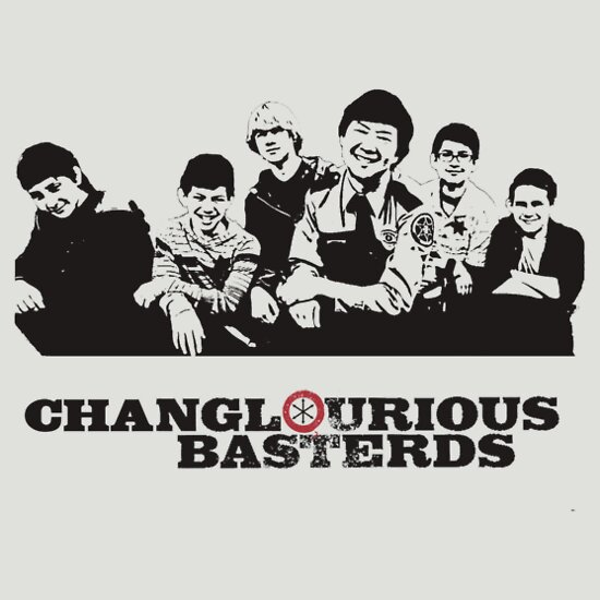 TShirtGifter presents: Changlourious Basterds