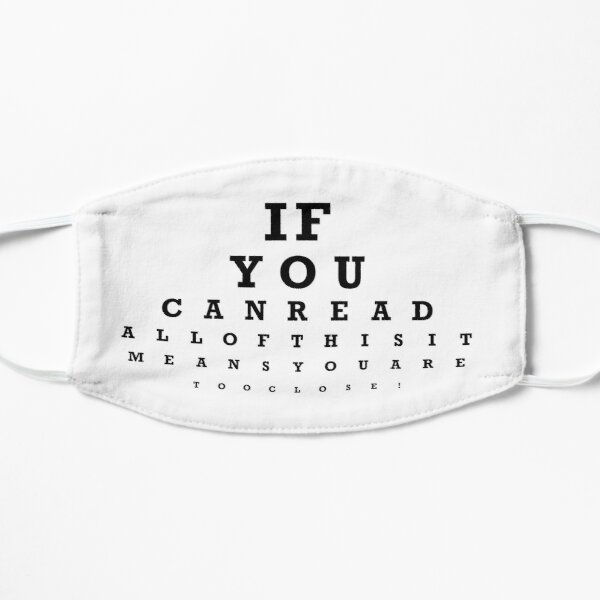 Funny Eye Test Mask Mask
