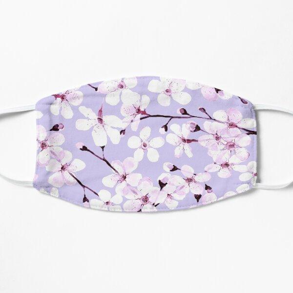 Cherry Blossom on grey/ lavender Mask