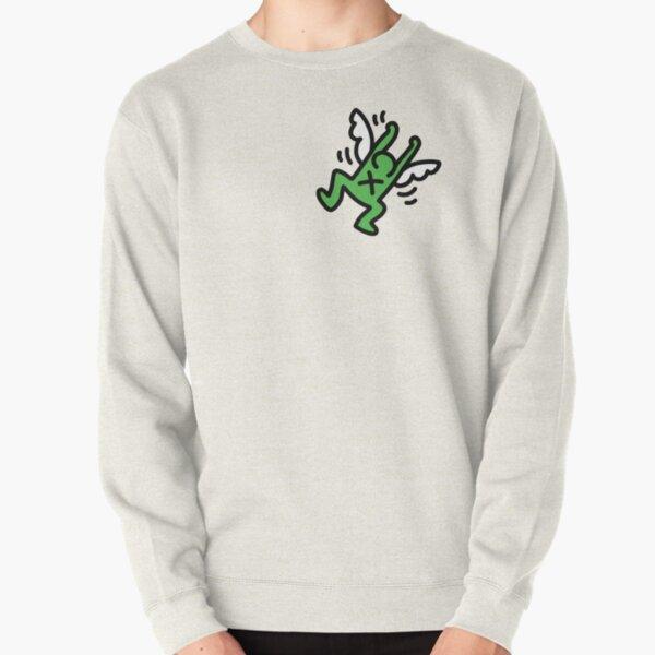 Haring grünen Engel Pullover
