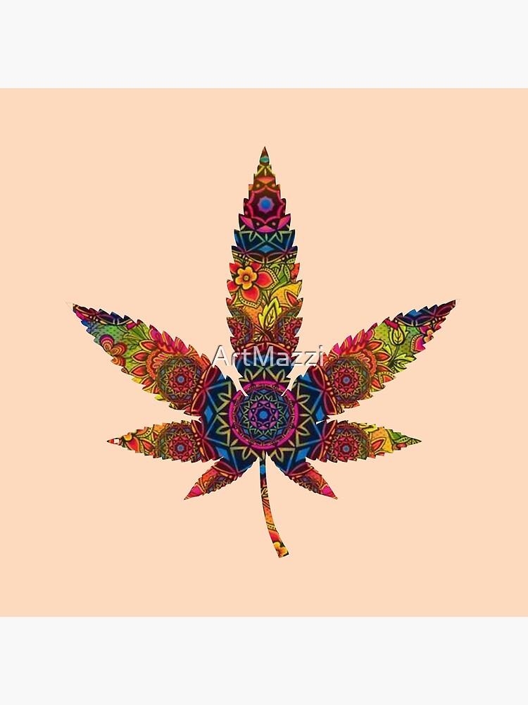 Mandala weed by ArtMazzi