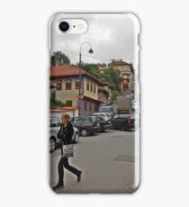 A streetscape iPhone Case/Skin