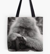 I think I need a manicure. Snow Monkeys Tote Bag