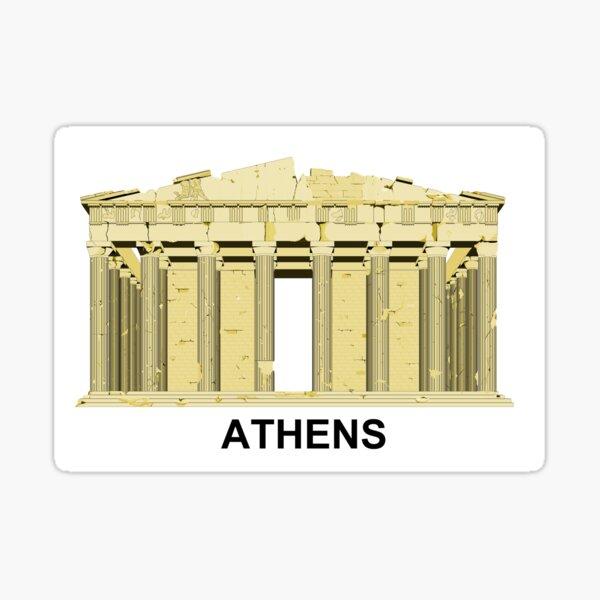 Le Parthenon à Athènes Sticker