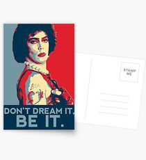 Don't dream it, BE it. Postcards