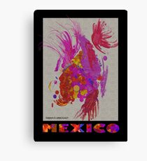 Aztec #2, Mexico Canvas Print