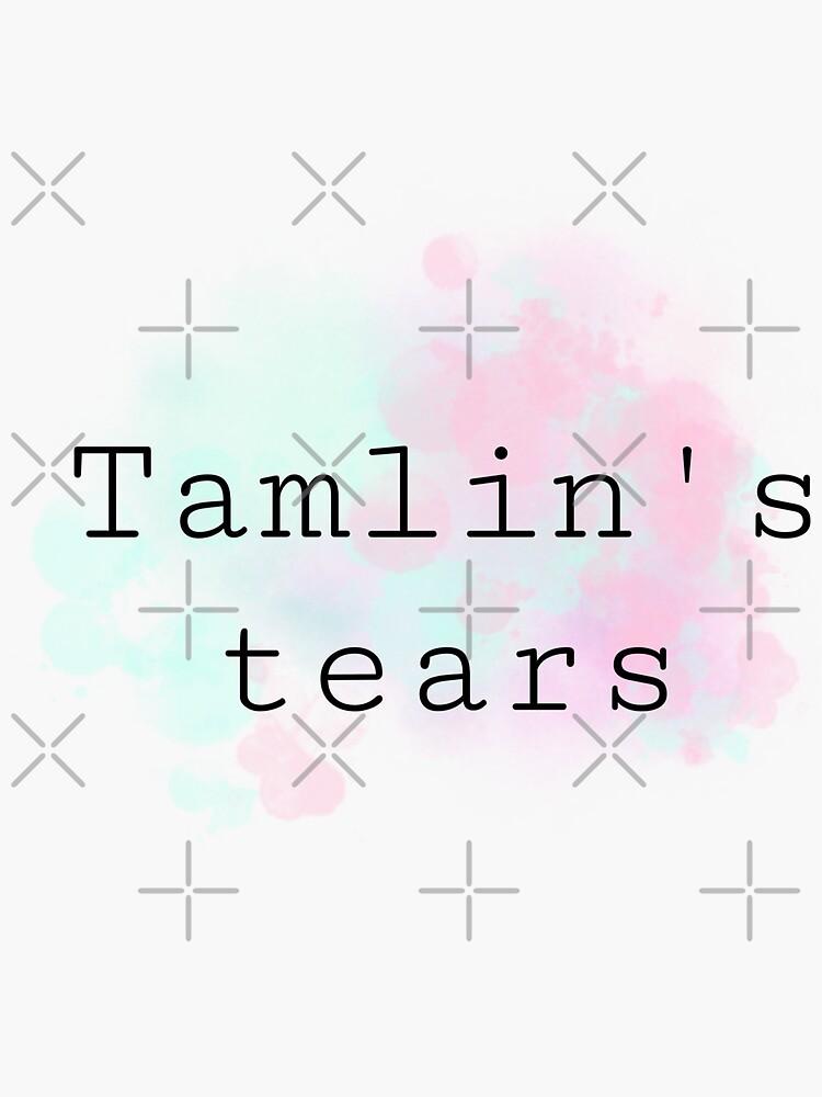 Tamlin's tears by bookish-art