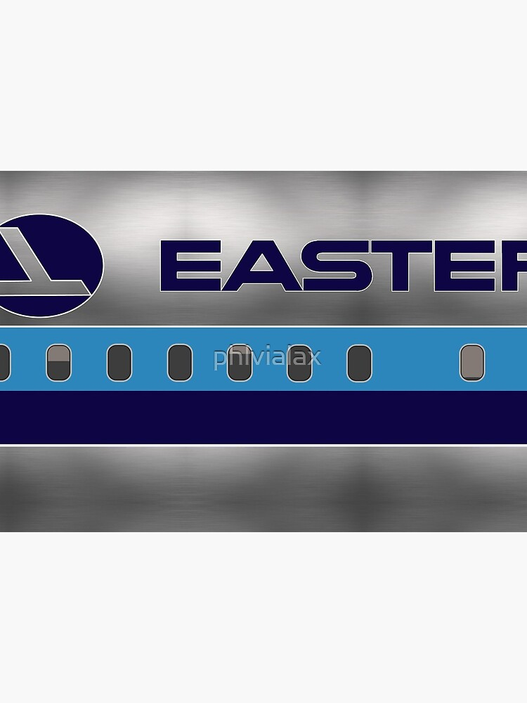 Plane Tees - Eastern Air Lines (Silver) by phlvialax