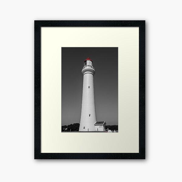 Split Point Lighthouse, Aireys Inlet Framed Art Print
