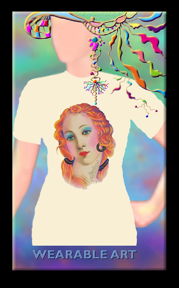 I Feel Pretty, Wearable Art by luvapples downunder/ Norval Arbogast