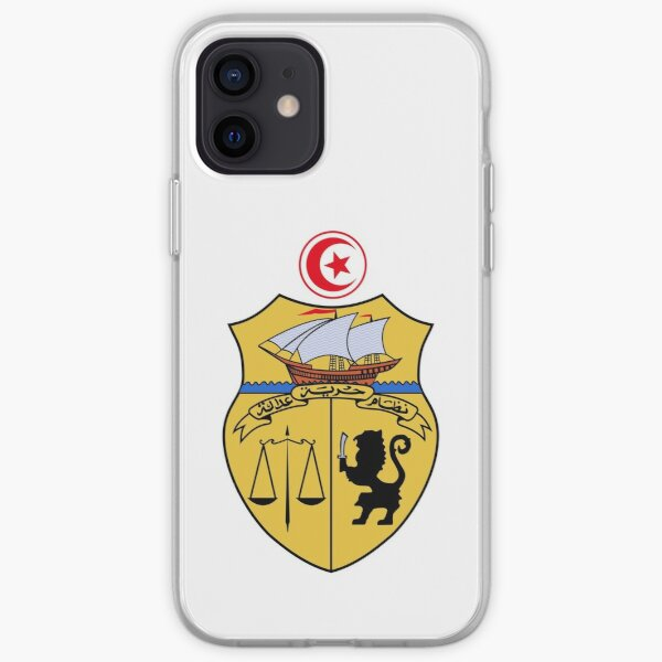 Armoiries de la Tunisie Coque souple iPhone