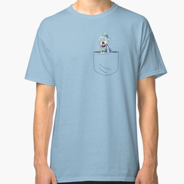 Aqua Pocket Classic T-Shirt
