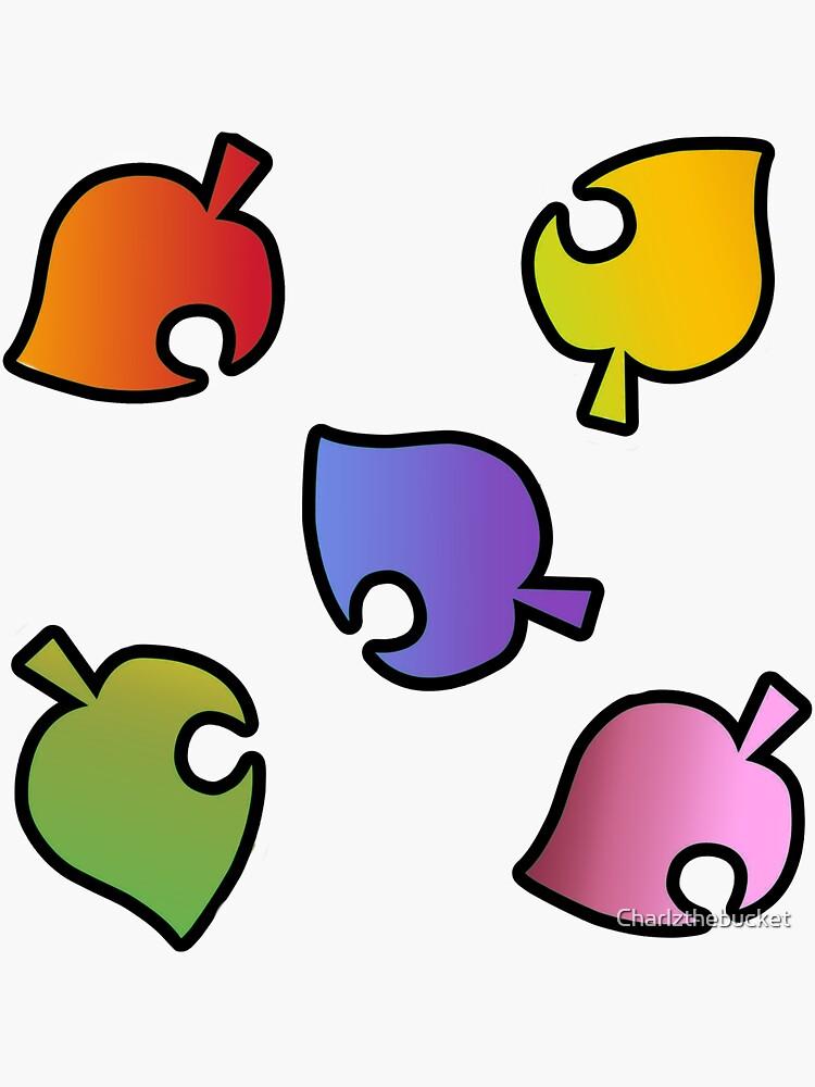 """Animal Crossing New Horizons ""Colour Leaf Logo"" Design ..."