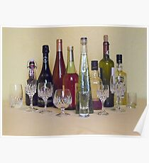 ONE GLAS FOR EACH BOTTLE Poster