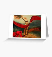 Christ Resurrected Greeting Card