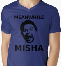 Meanwhile Misha Mens V-Neck T-Shirt