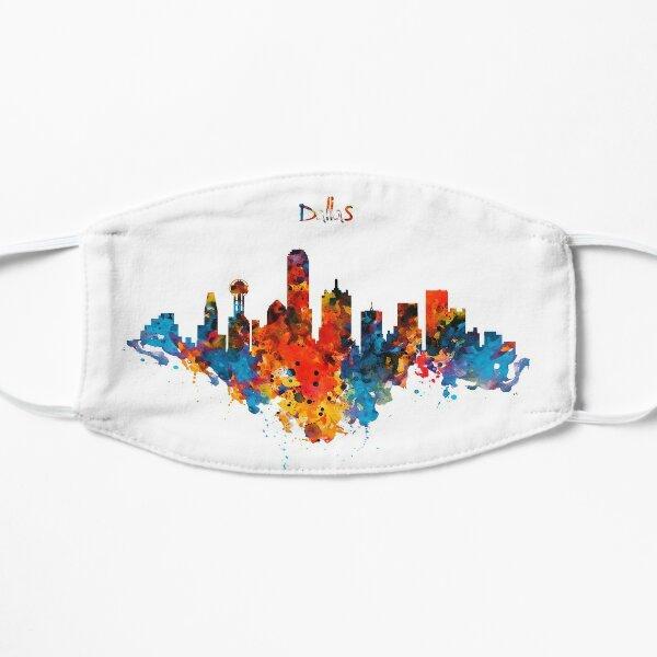 Dallas Watercolor Skyline  Mask