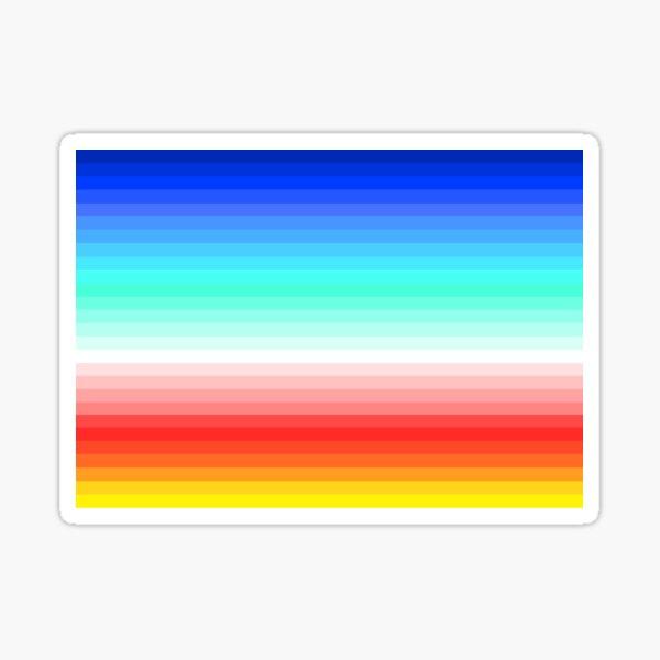 Sunset Gradient Sticker