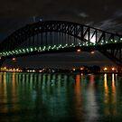 Full Moon Bridge by Jason Ruth