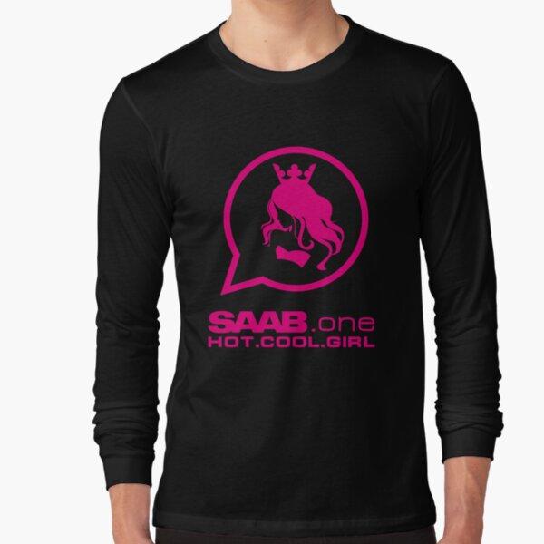 Saab.one HOT.COOL.GIRL Long Sleeve T-Shirt