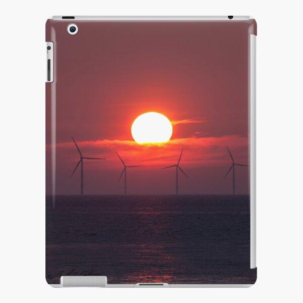 Windfarm sunset iPad Snap Case