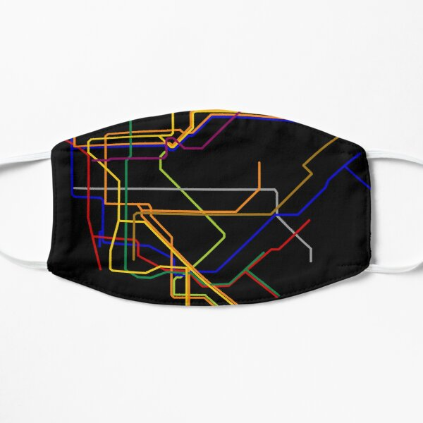 NYC Lines Mask