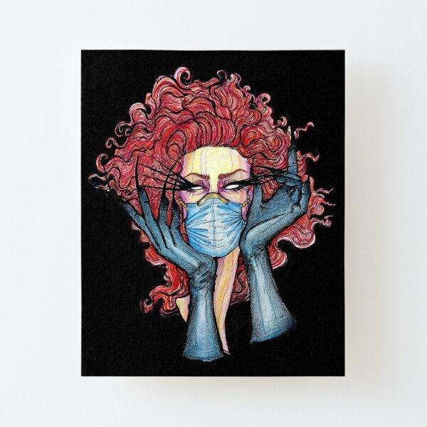 COVID19 Beauty Impression montée sur toile