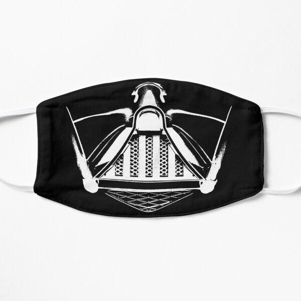 dark vader mask Flat Mask