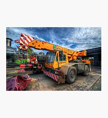 Big Crane 1.0 Photographic Print
