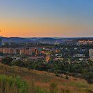 Pretoria at night #6 by Rudi Venter
