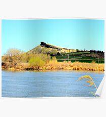 Lizard Butte....Marsing, Idaho Poster