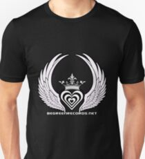 Zebra Heart 1 - April 2012 Unisex T-Shirt