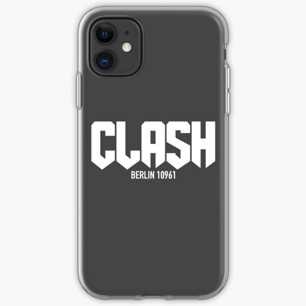 coque iphone 12 the clash