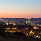 Pretoria at night #8 by Rudi Venter