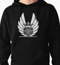 Winged Tetra Knot Heart 1 April 2012 BGR Pullover Hoodie