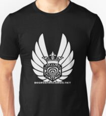 Winged Tetra Knot Heart 1 April 2012 BGR Unisex T-Shirt