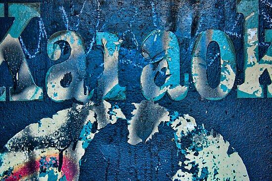 Karaoke Blue by Marilyn Cornwell