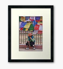 Japa Mala Time Framed Print