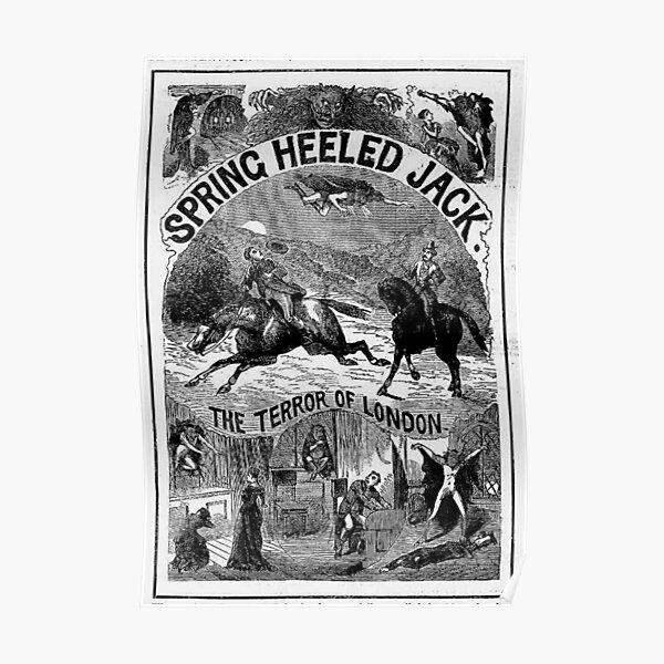 Spring Heeled Jack Poster