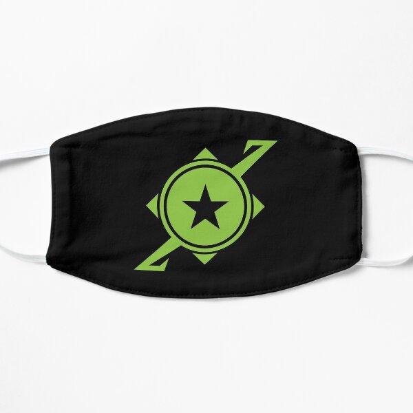 Galaxina Planet Logo - Lime Green Flat Mask